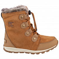 SOREL CHILDRENS WHITNEY SUEDE Elk, Natural