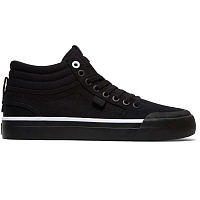 DC EVAN HI TX J SHOE BLACK/BLACK/WHITE