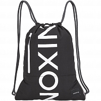 Nixon EVERYDAY CINCH BAG BLACK/DARK GRAY