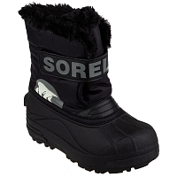 Sorel TODDLER SNOW COMMANDER Black, Charcoal