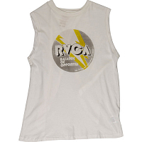 RVCA VOLT BOXY ANTIQUE WHITE