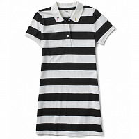 Vans WM PEANUTS POLO DRESS WHITE-BLACK