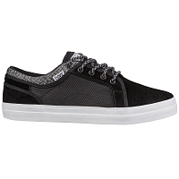 DVS AVERSA+ BLACK WHITE SUEDE KNIT