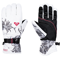 Roxy RX JETTY GLOVES J GLOV BRIGHT WHITE_SWELL FLOWERS