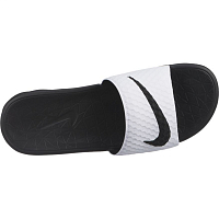 Nike BENASSI SOLARSOFT WHITE/BLACK