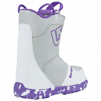 Burton GROM BOA WHITE/PURPLE