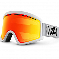 VonZipper CLEAVER White Satin/Fire Chrome
