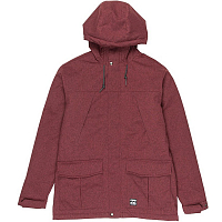 Billabong ALVES 10K JACKET BORDEAUX HTR