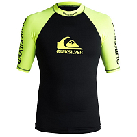 Quiksilver ON TOUR SS M SFSH SAFETY YELLOW/ BLACK