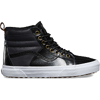 Vans SK8-HI 46 MTE (Pebble Leather) black