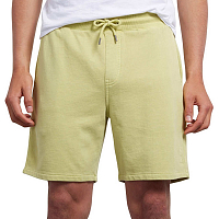 Volcom CASE FLEECE SHORT SHADOW LIME