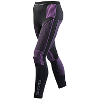 X-Bionic XB Lady Acc_evo UW Pants Long CHARCOAL/FUCHSIA