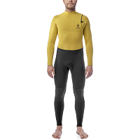 ANKER 4/3 FULLSUIT ZIPFREE TEMPLE YELLOW/BLACK