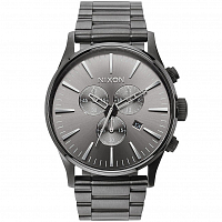 Nixon Sentry Chrono ALL GUNMETAL