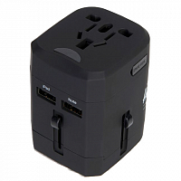 Herschel TRAVEL ADAPTER BLACK