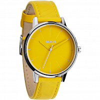 Nixon Kensington Leather YELLOW/MOD
