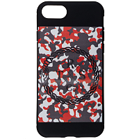RattleSnake SILICONE IPHONE 7 Orange Camo
