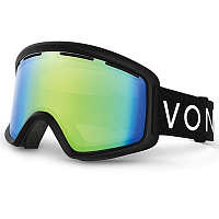 VonZipper BEEFY Black Satin / Quasar Chrome