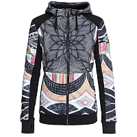 Roxy FROST PRINTED J OTLR TRUE BLACK_POP SNOW STARS