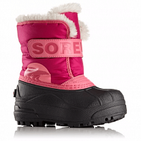 SOREL CHILDRENS SNOW COMMANDER Tropic Pink, Deep Blush