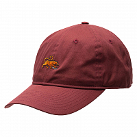 Element FLUKY DAD CAP OXBLOOD RED