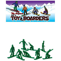 Toy Boarders SNOW 1 GREEN
