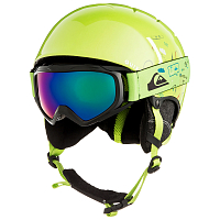 Quiksilver GAME PACK B HLMT LIME GREEN_MOAM TATT