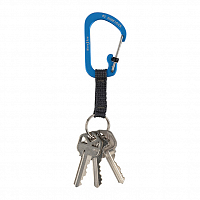 Nite Ize SLIDELOCK KEY RING ALUMINUM 3 BLUE