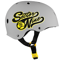 Sector9 RALLY - BRAINSAVER NON-CPSC HELMET GREY
