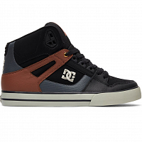 DC SPARTAN HIGH WC M SHOE BLACK/TAN