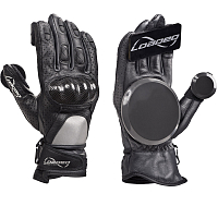 Loaded Loaded Leather Race Gloves Dark Gray