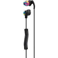 Skullcandy METHOD IN-EAR W/MIC BLACK/SWIRL/COOLGRAY