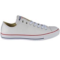 CONVERSE CHUCK TAYLOR ALL STAR LEATHER OX WHITE/RED