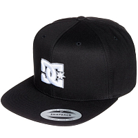 DC SNAPPY M HATS BLACK