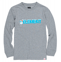 Element SNOW LS BOY 1 GREY HEATHER