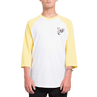 Volcom WINGED PEACE 3/4 YELLOW