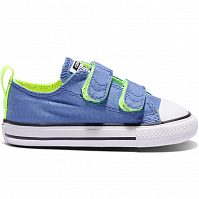 CONVERSE Chuck Taylor All Star 2V OXYGEN BLUE/VOLT/WHITE