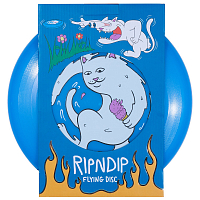 RIPNDIP ICE CREAM SURFER FRISBEE BLUE
