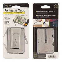 Nite Ize FINANCIALTOOL MONEY CLIP+POCKET TOOLS ASSORTED