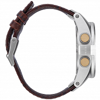 Nixon UNIT SS LEATHER BROWN GATOR