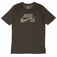 Nike SB LOGO TEE SEQUOIA/MEDIUM OLIVE