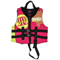Ronix AUGUST GIRL'S - CGA LIFE VEST PINK / HIGHLIGHTER
