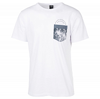 Rip Curl ULT POCKET TEE OPTICAL WHITE
