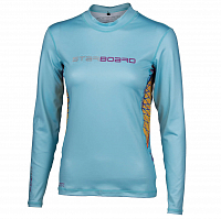 Starboard LONG SLEEVE LYCRA LIGHT BLUE