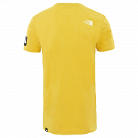 The North Face M S/S FINE 2 TEE LEOPARD YELLO (VB6)