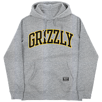 Grizzly UNIVERSITY HOODIE GREY HEATHER