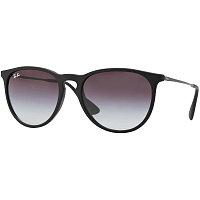 Ray Ban ERIKA RUBBER BLACK/BROWN GRADIENT
