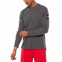 The North Face M L/S FINE 2 TEE ASPHALT GREY (0C5)
