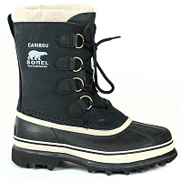 Sorel CARIBOU (WOMENS) Black, Stone