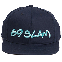 69slam LOGO CAP DEEP BLUE 69SLAM LOGO